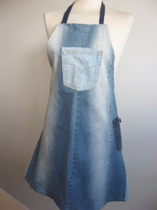 Up cycled denim