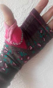 Up cycled gloves